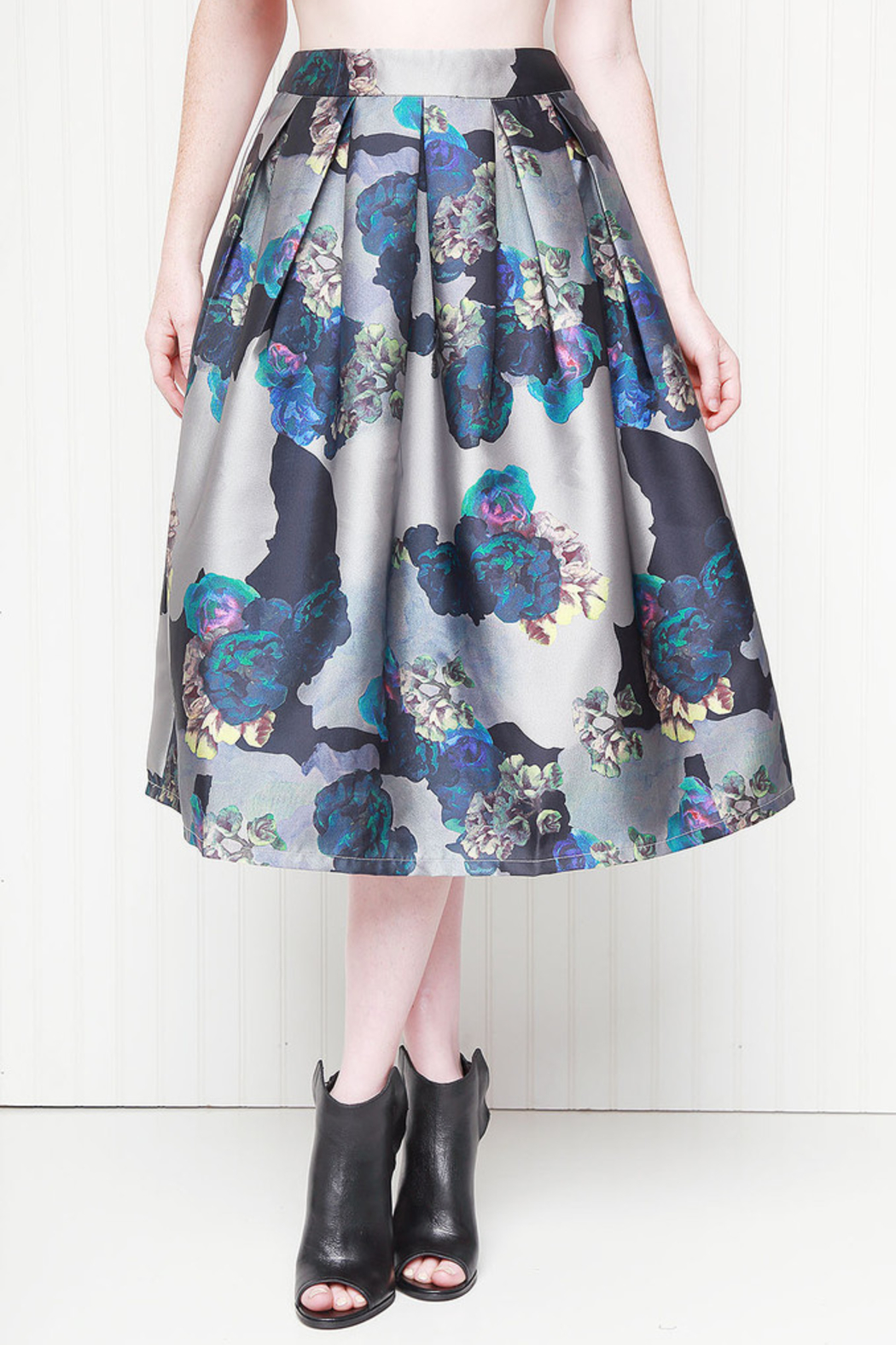 Asilio Garden Friend Skirt - Side Cropped Image
