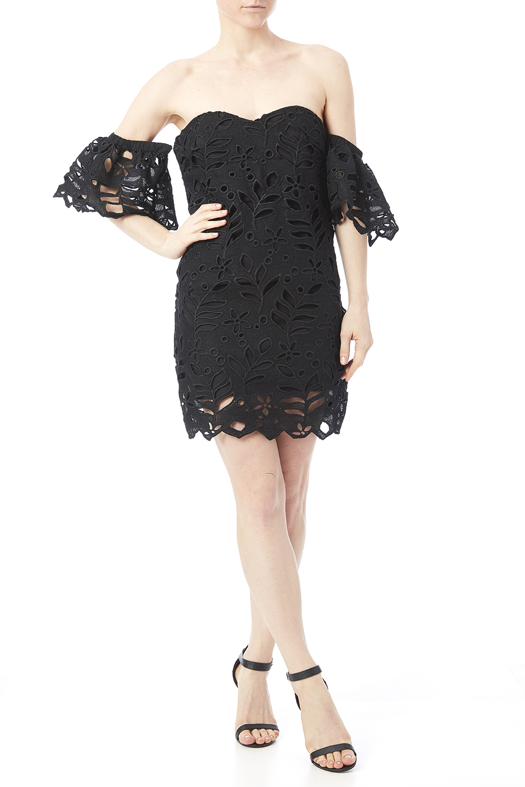 Asilio Party To Peace Dress - Front Full Image