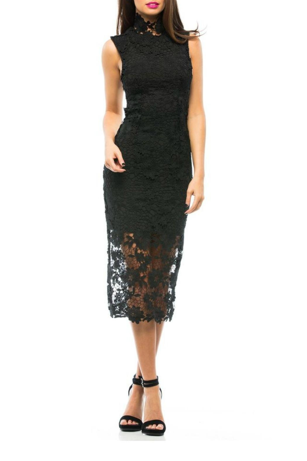 Asilio With Every Intent Dress - Back Cropped Image