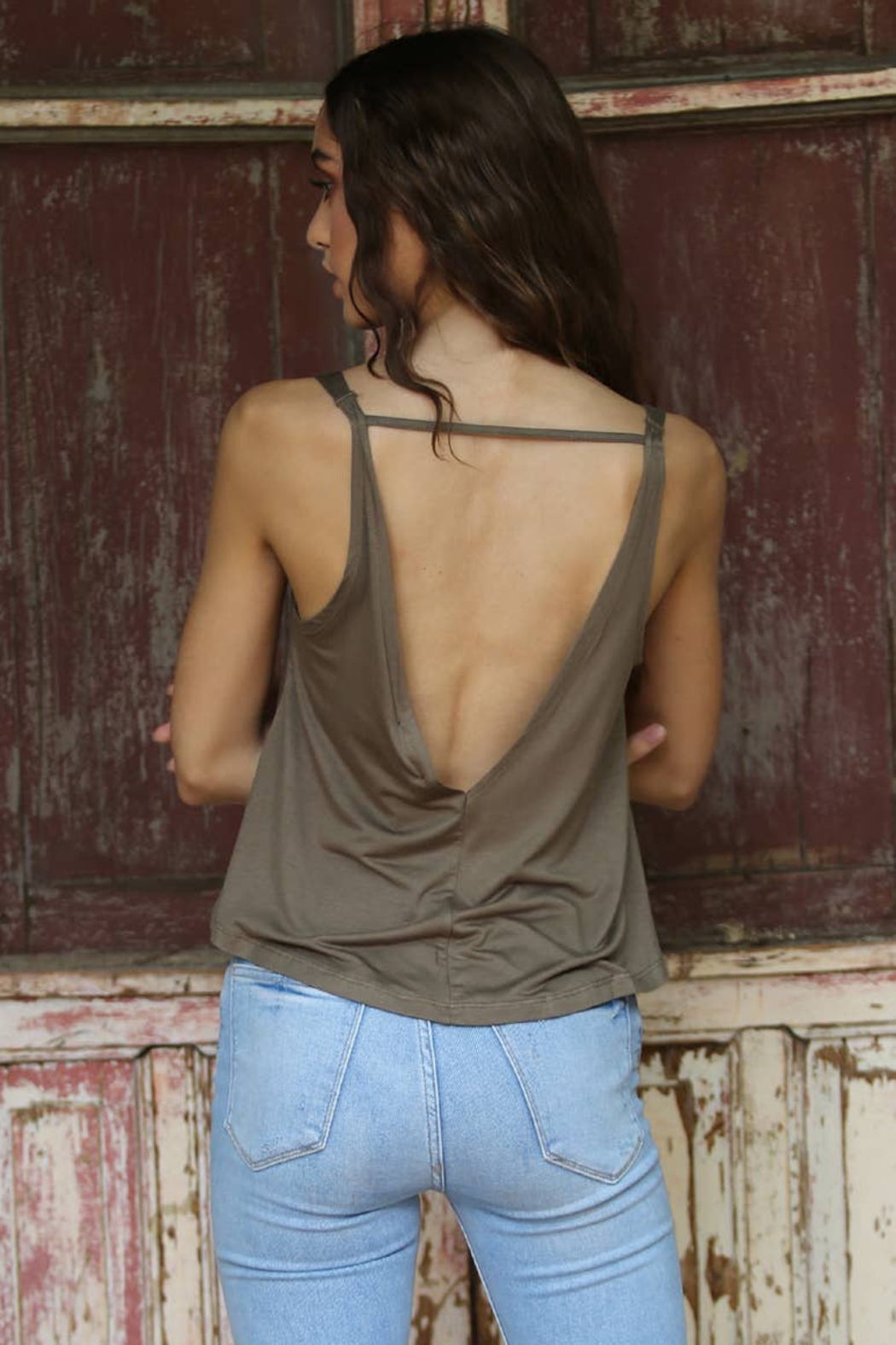 Angie Asis Swing Tank - Front Full Image