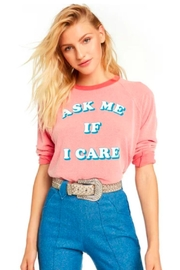 Wildfox Ask Me Pullover - Product Mini Image