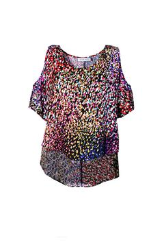 Askari  Cold Shoulder Confetti Top - Product List Image