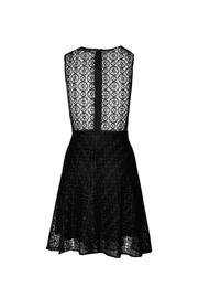 Askari  Elegant Black Dress - Front full body