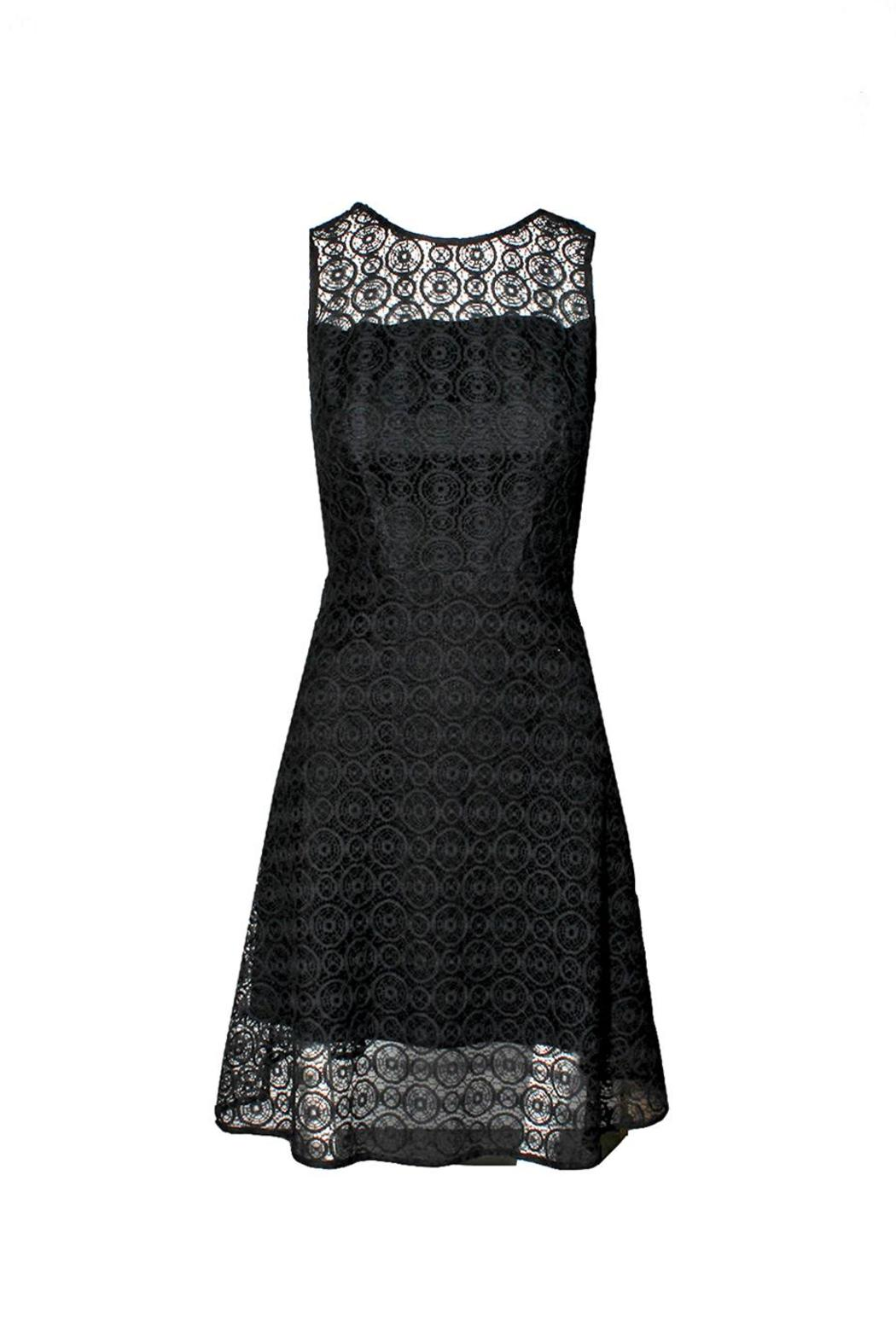Askari  Elegant Black Dress - Main Image