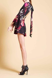 Askari  Floral Flirty Romper - Front full body