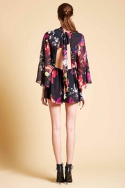 Askari  Floral Flirty Romper - Side cropped