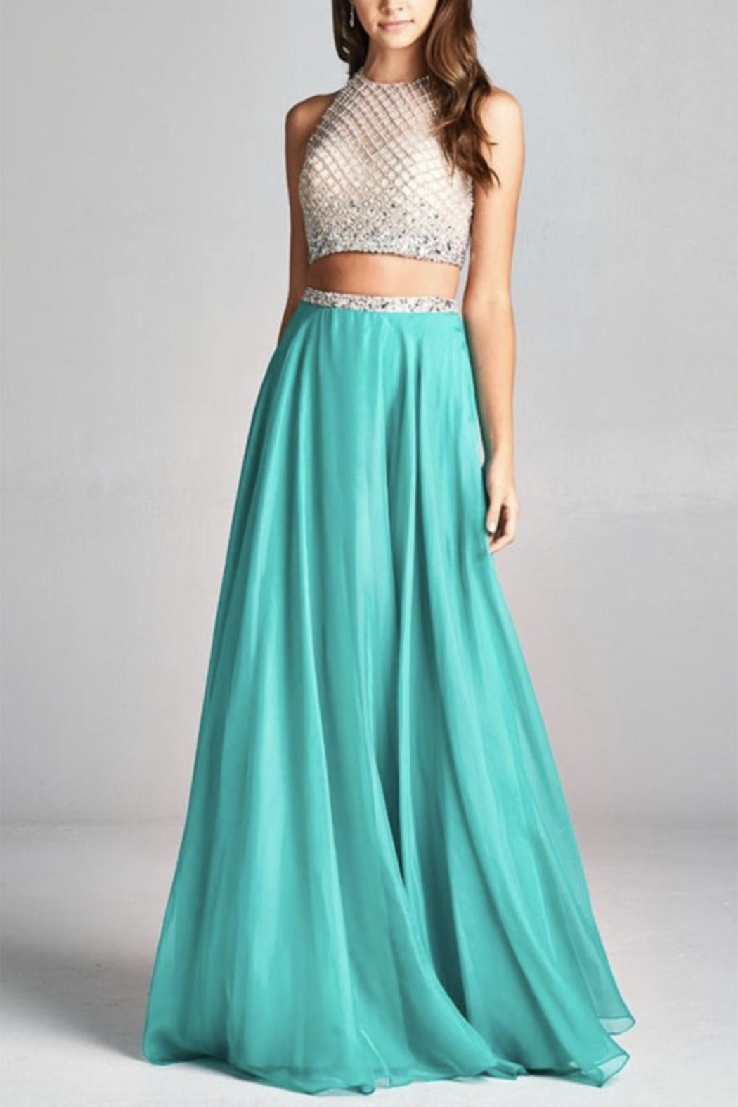 ASPEED DESIGN Two-Piece Prom Dress - Main Image