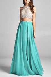 ASPEED DESIGN Two-Piece Prom Dress - Product Mini Image