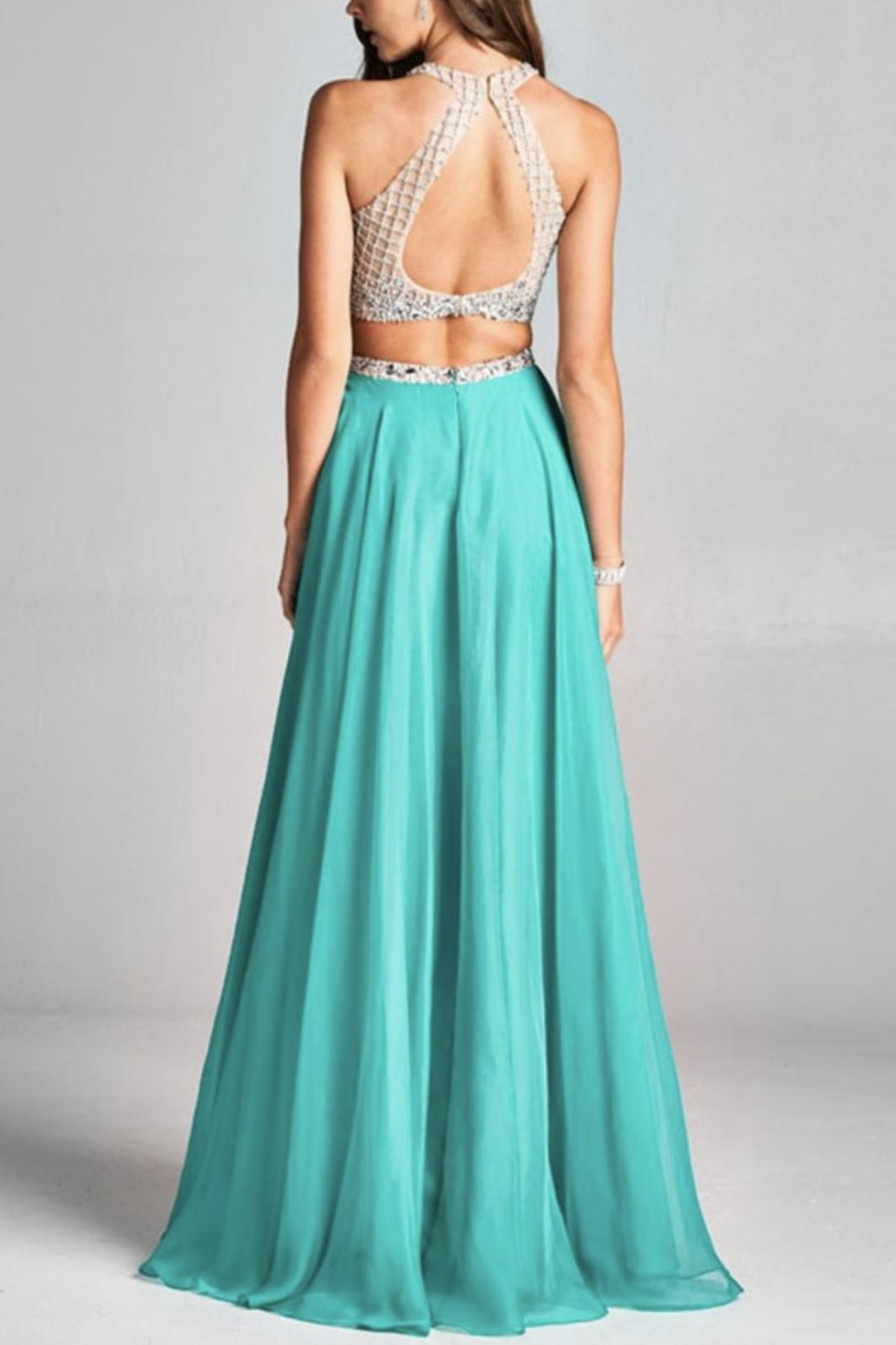 ASPEED DESIGN Two-Piece Prom Dress from Florida by Apricot Lane St ...