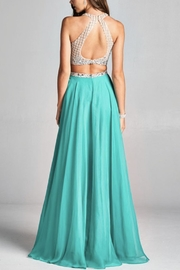 ASPEED DESIGN Two-Piece Prom Dress - Front full body