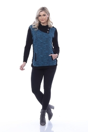 Parsley & Sage Aspen Button Colla - Front cropped