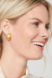 Julie Vos Aspen Clip Earrings - Front full body