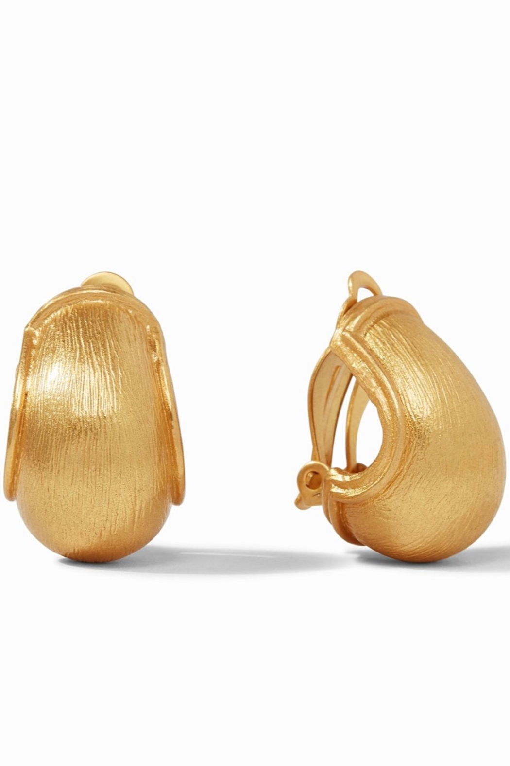 Julie Vos Aspen Clip Earrings - Main Image