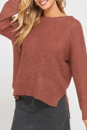 Wishlist Aspen Distressed Sweater - Product Mini Image