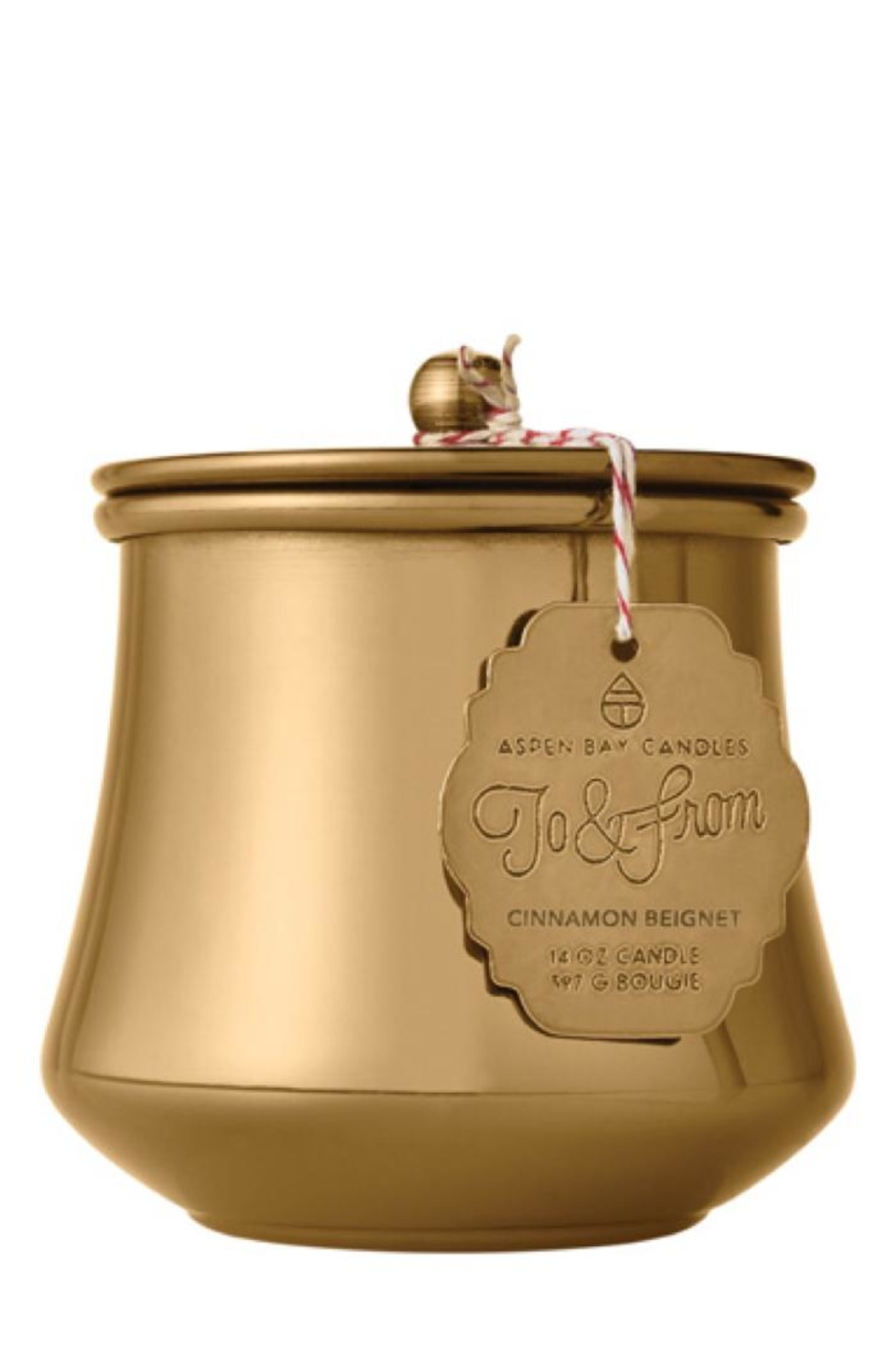Aspen Bay Candles  Cinnamon Beignet Tin Candle - Main Image