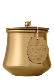 Aspen Bay Candles  Cinnamon Beignet Tin Candle - Front cropped