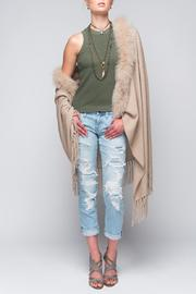 Aspen True Cashmere Fox Wrap - Product Mini Image