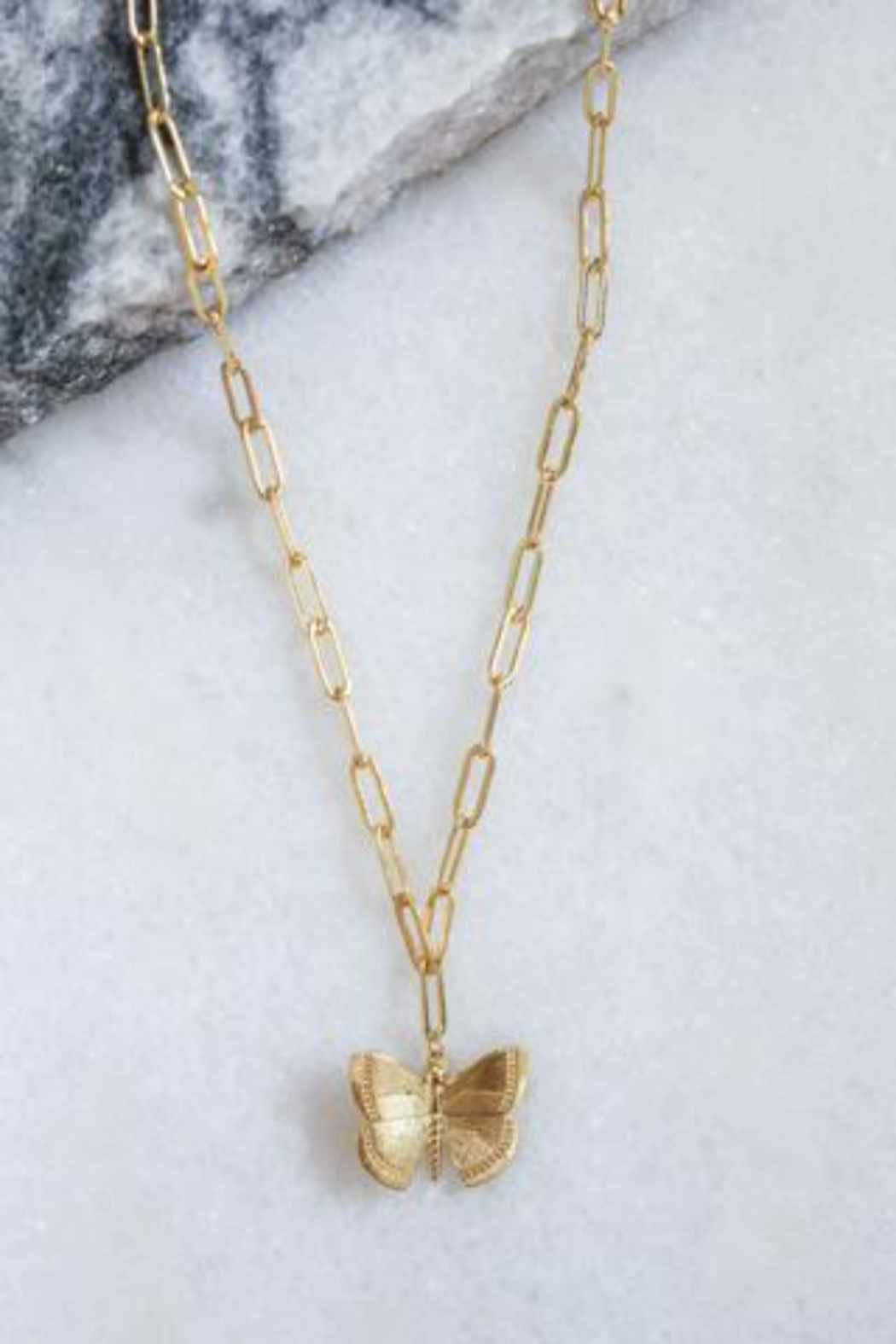 Kinsey Designs Aspire Butterfly Necklace - Main Image