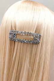 Lyn -Maree's Assorted Beaded Hair Clip - Front full body