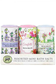 Michel Design Works Assorted Mini Bath Salts - Product Mini Image