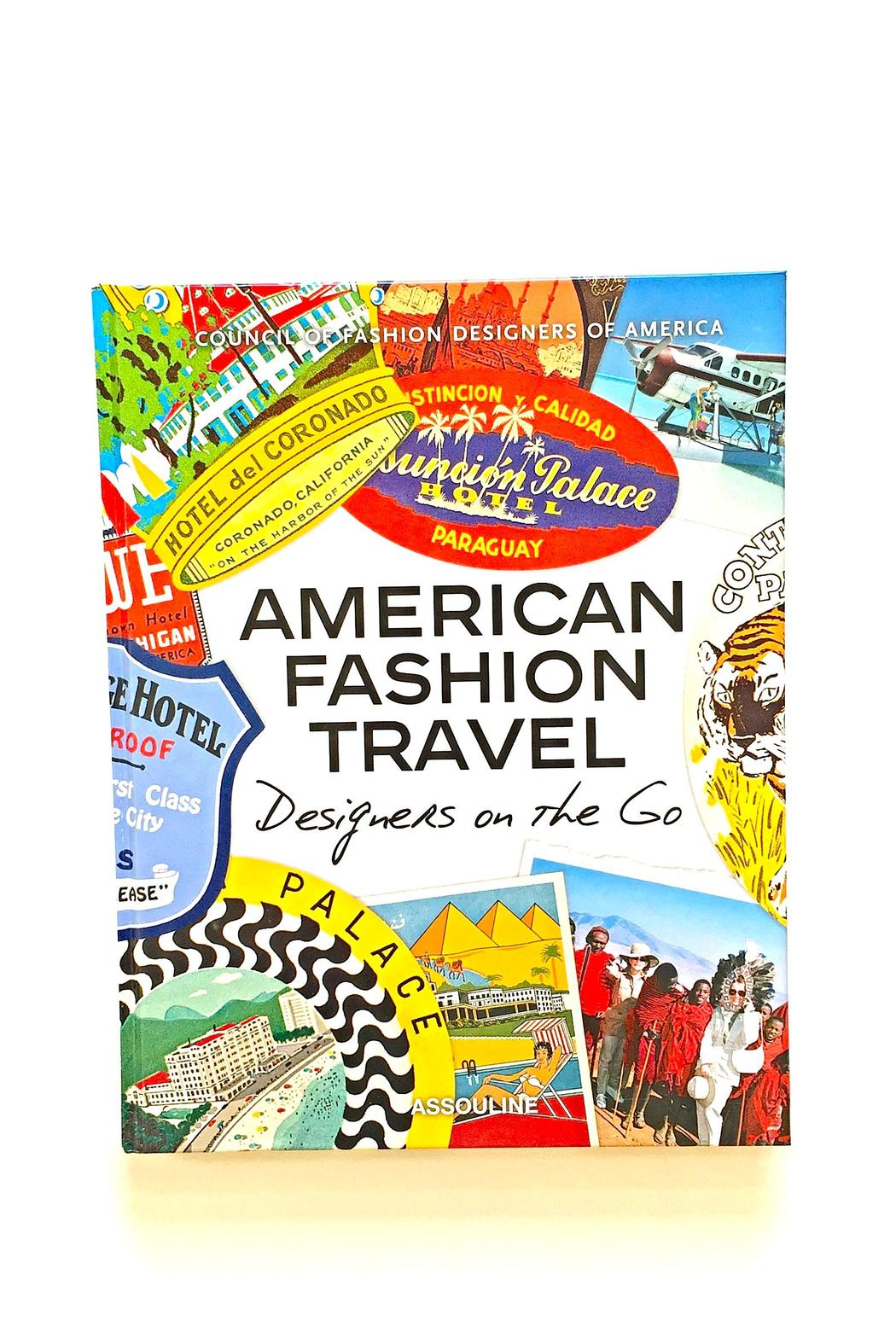 Assouline American Fashion Travel Book - Main Image