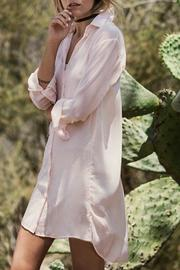 Shoptiques Product: Chiffon Oversized Shirtdress