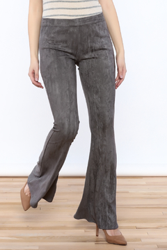 Shoptiques Product: Grey Bell Leggings