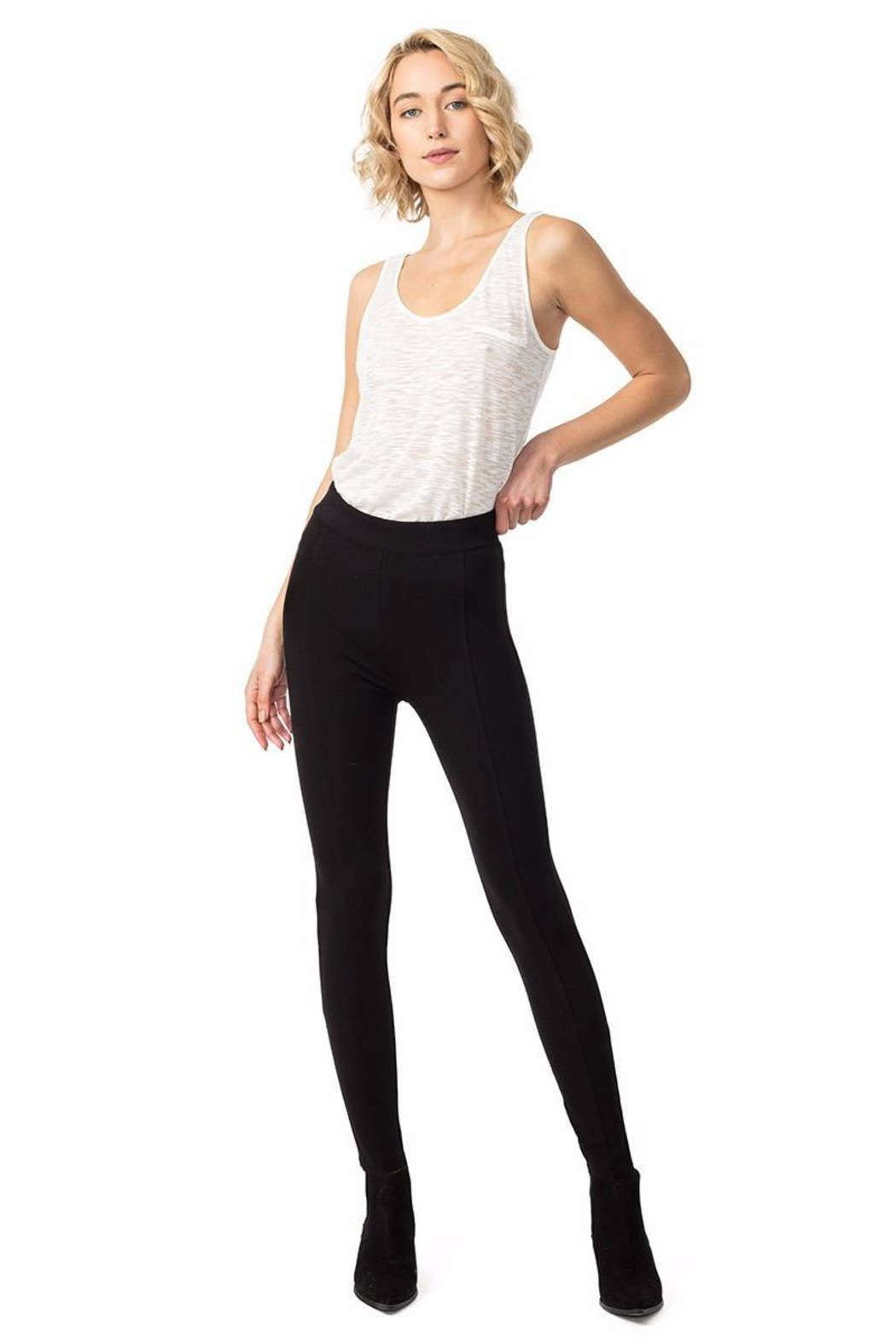 Astars Rizzo Tummy-Tuck Legging - Front Cropped Image