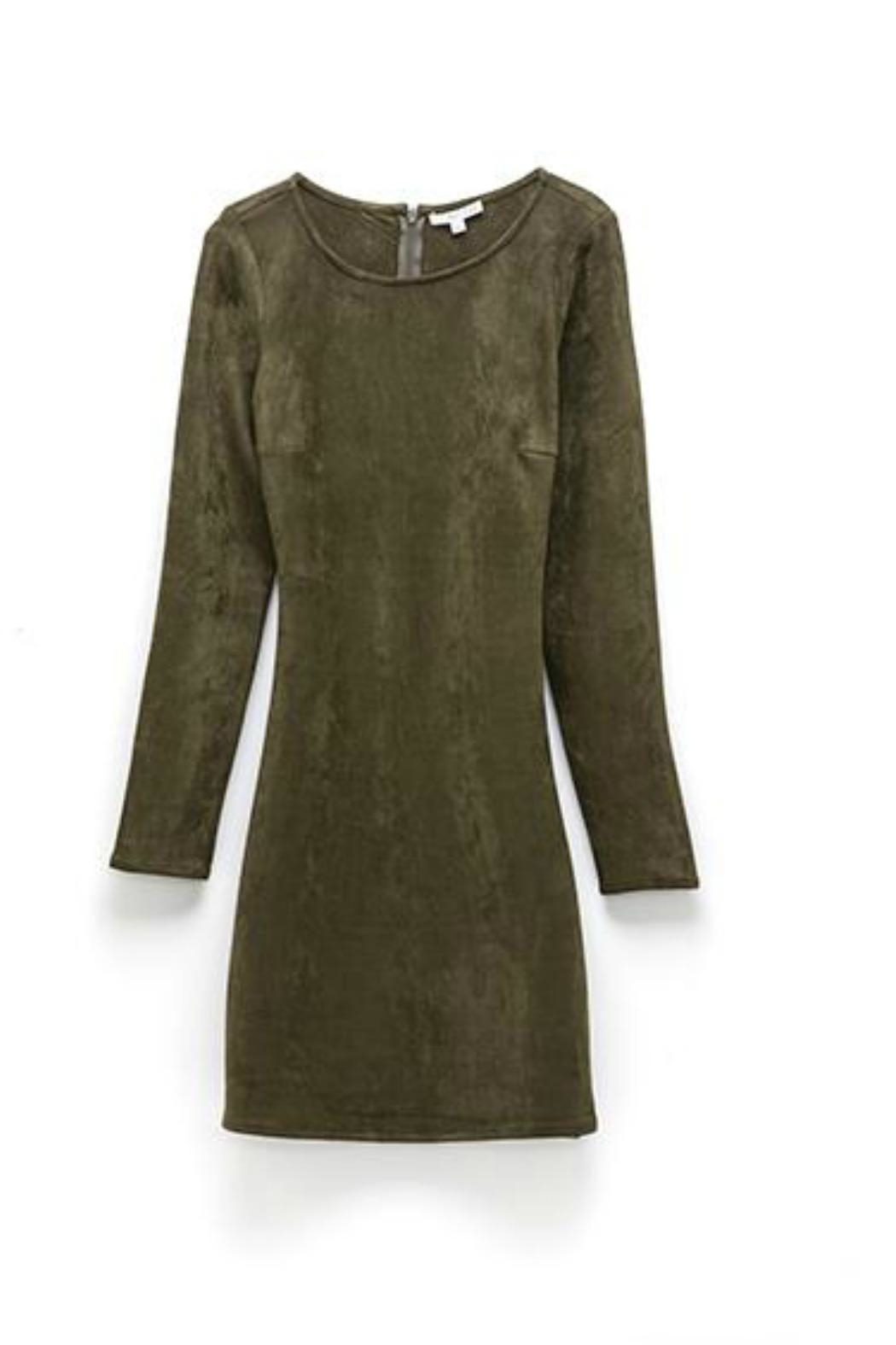 Astars Vegan Suede Dress - Main Image