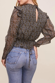 ASTR Alcott Floral Top - Back cropped