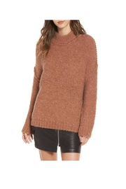 ASTR Darleen Oversized Sweater - Front cropped