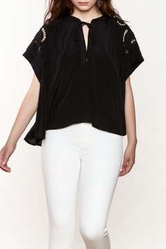 Shoptiques Product: Aya Open Stitch Box Top