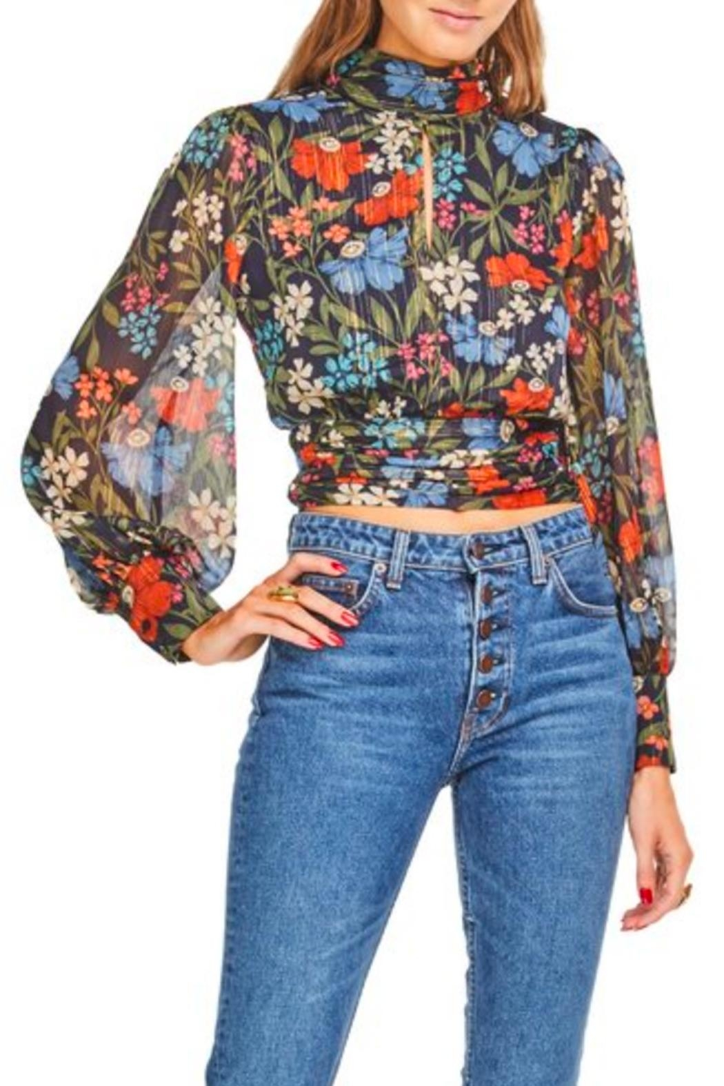 ASTR Brandi Top - Front Cropped Image