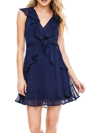 ASTR Brynn Ruffle Dress - Product Mini Image