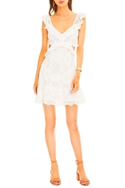 ASTR Elora Eyelet Dress - Product Mini Image