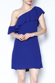 ASTR Marisol One Shoulder Dress - Product Mini Image