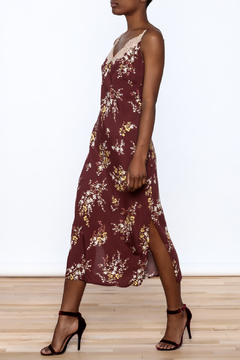 ASTR Merlot Slip Dress - Product List Image