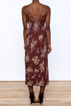 ASTR Merlot Slip Dress - Alternate List Image