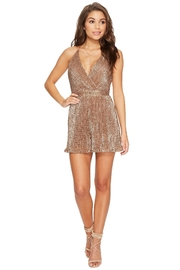 ASTR Sabrina Sequins Romper - Product Mini Image