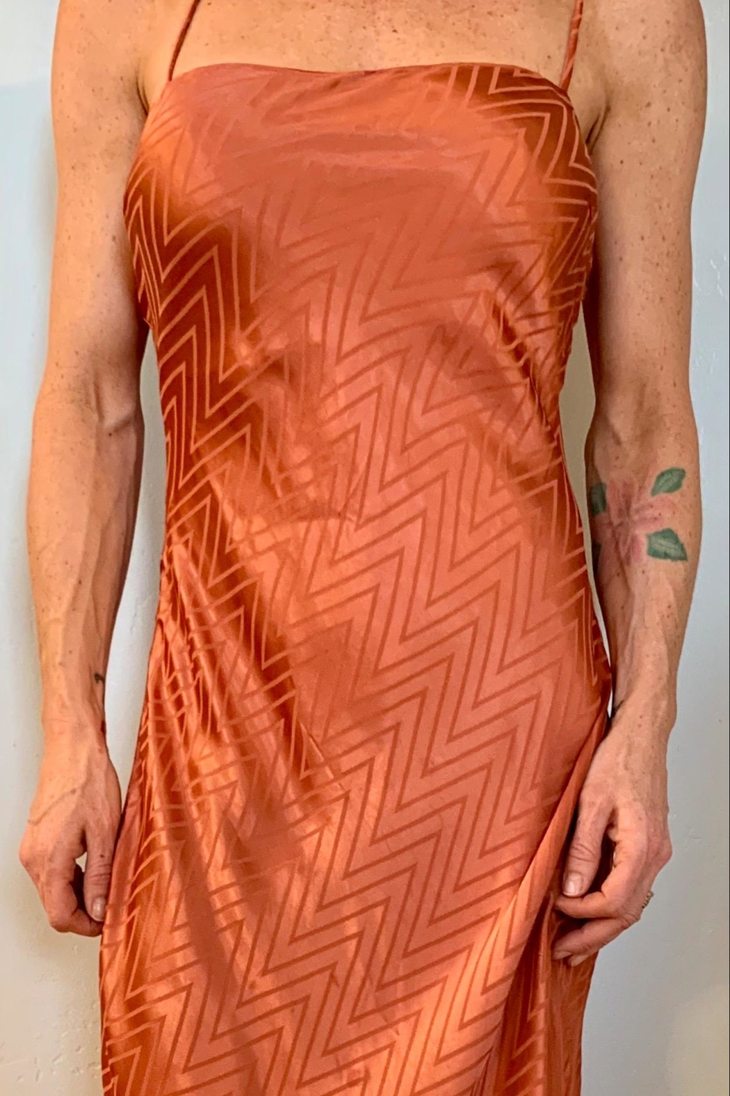ASTR Satin Slip Dress - Main Image