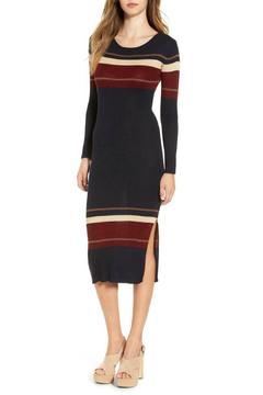 ASTR Striped Sweater Dress - Product List Image
