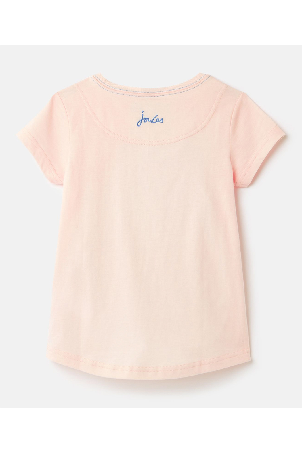 Joules Astra Applique T-Shirt 3-12 Years - Front Full Image