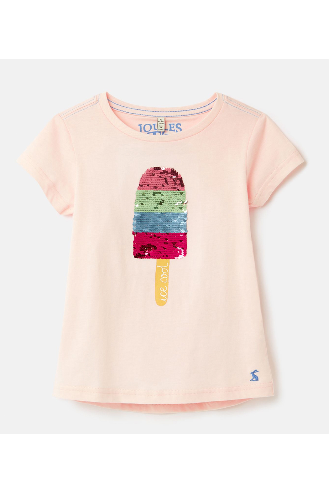 Joules Astra Applique T-Shirt 3-12 Years - Main Image