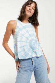 z supply Astra Spiral Tie-Dye Tank - Product Mini Image