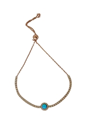 Lolly Ella Astrid Blue Opal - Front cropped