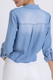 Love Tree Astrid Chambray Top - Other