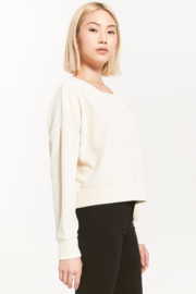 z supply Astrid Cord Pullover - Front full body