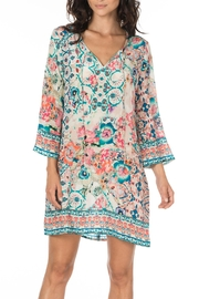 Tolani Astrid Silk Tunic - Product Mini Image