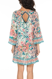 Tolani Astrid Silk Tunic - Front full body