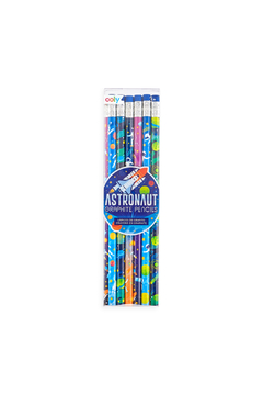 Ooly Astronaut Graphite Pencils - Set Of 12 - Product List Image